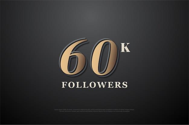 Grazie ai 60k follower con numeri marroni