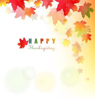 Sfondo del ringraziamento