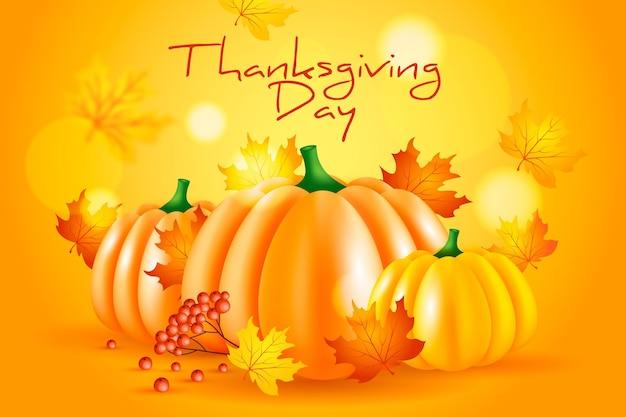 Disegno di sfondo del giorno del ringraziamento