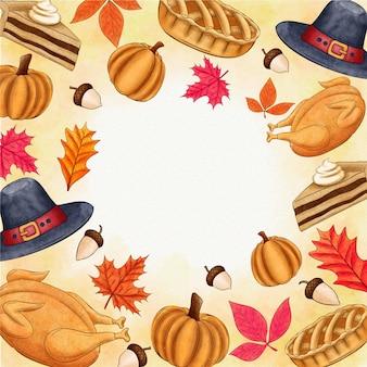 Sfondo del giorno del ringraziamento