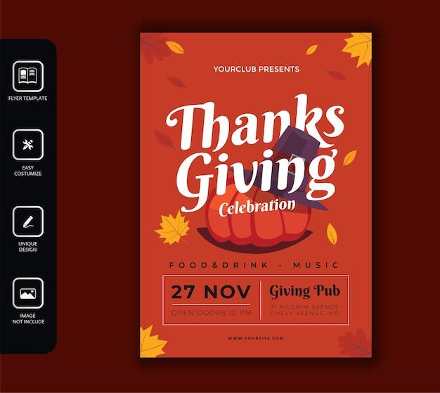 Volantino del ringraziamento
