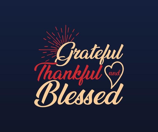 Disegno vettoriale di lettere del ringraziamento