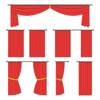Sipario del teatro