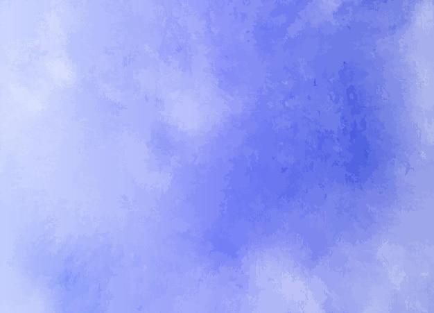 Si tratta di una texture di sfondo pennello sfumatura acquerello astratto Vettore Premium
