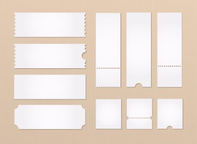 Illustrazione del modello di biglietto