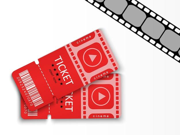 Biglietti per partecipare a un evento o un film.