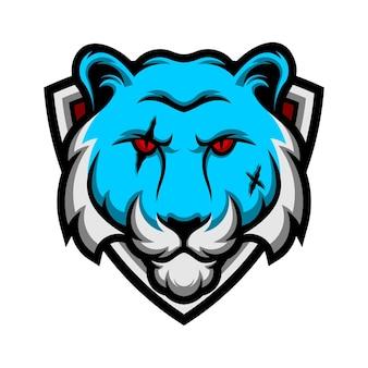 Emblema della testa della tigre