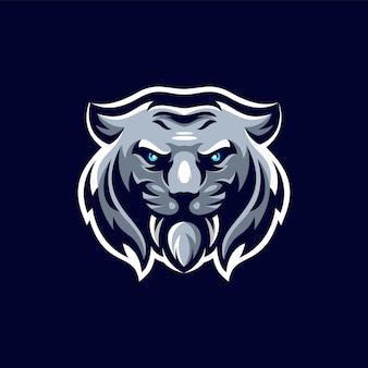 Disegno del logo della tigre