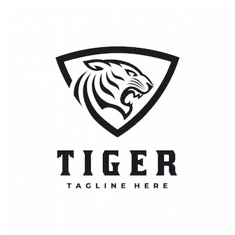 Tiger shield logo