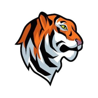 Illustrazione grafica vettoriale di tigre