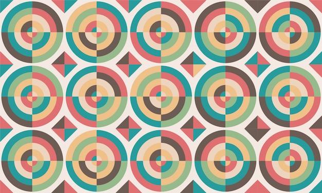 Design delle piastrelle. illustrazione vettoriale modello del pavimento. elementi decorativi vintage. perfetto per la stampa su carta o tessuto.