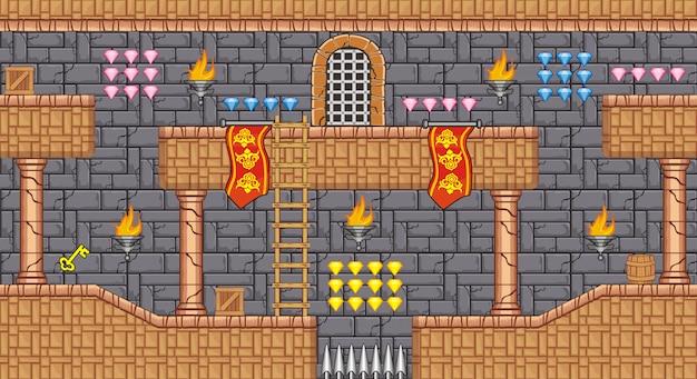 Piattaforma tileset per la creazione di giochi per dispositivi mobili