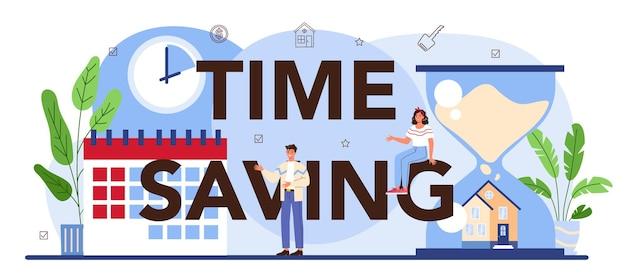 Intestazione tipografica che fa risparmiare tempo nel settore immobiliare qualificato immobiliare