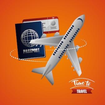 Tempo di viaggiare in aereo