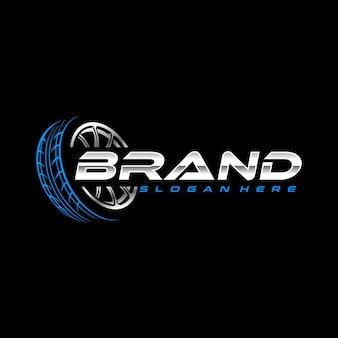 Modello di logo del pneumatico