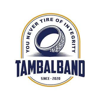 Logo del negozio di pneumatici