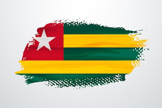 Togo pennello vernice bandiera