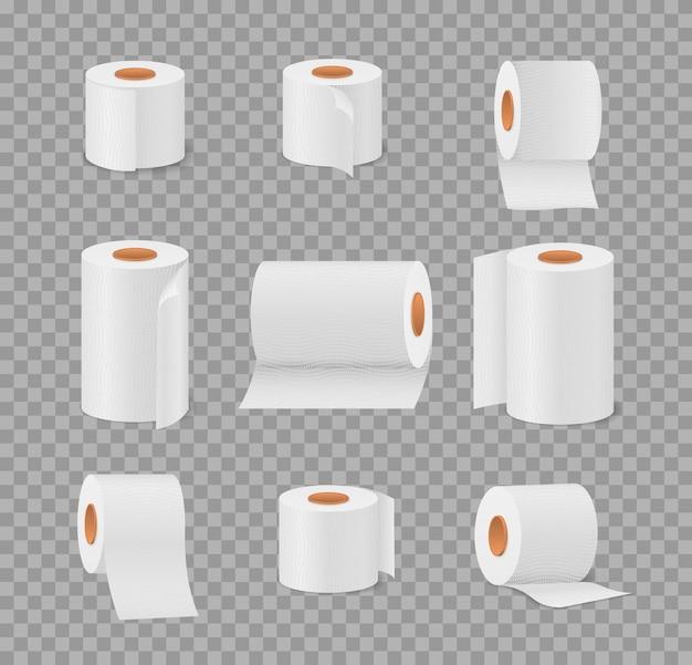 Rotolo di carta igienica per bagno e toilette