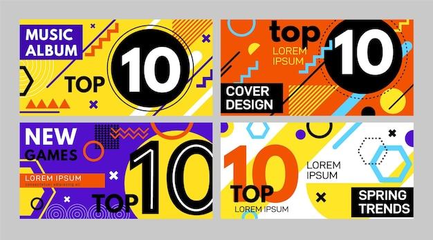 I 10 migliori banner di valutazione