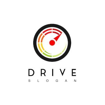 Ispirazione per il design del logo di top speed drive