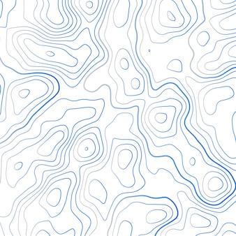 Fondo di illustrazione vettoriale mappa topografica