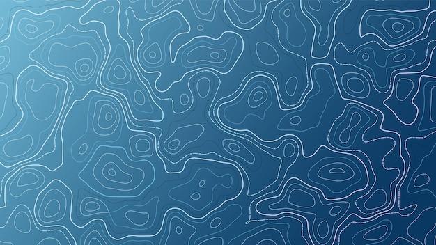 Carta da parati vettoriale topografica