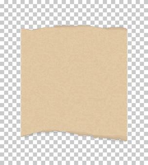 Bordi di carta strappata per lo sfondo