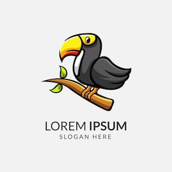 Logo dell'uccello tucano