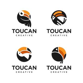 Pacchetto logo toucan