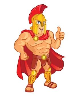 Mascotte del fumetto romano dura