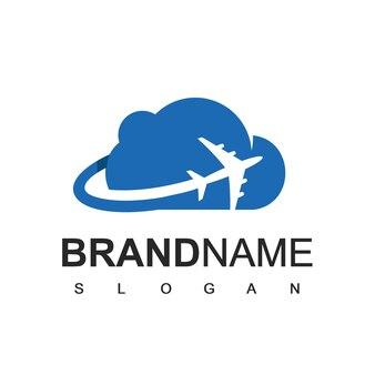 Modello di progettazione del logo di tour e viaggi