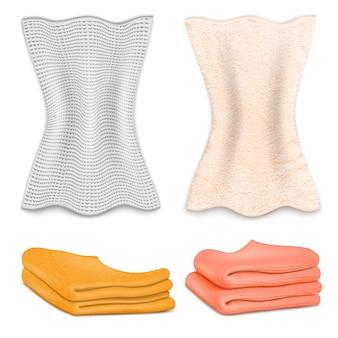 Set di icone di asciugamano