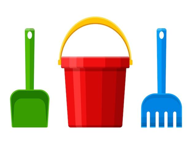 Set di giocattoli per bambini sandbox e parco giochi