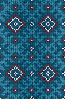 Modello tradizionale a maglia baltica
