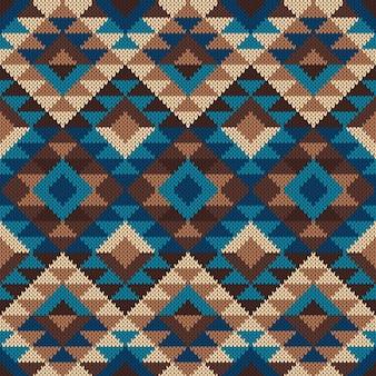 Modello azteco tribale tradizionale