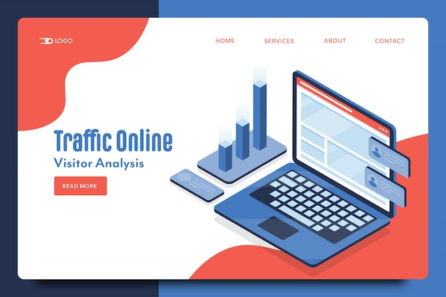 Modello web online del traffico