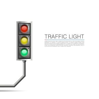 Segnale stradale su sfondo bianco. illustrazione vettoriale