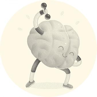 Allena la tua attività cerebrale per l'allenamento del cervello.