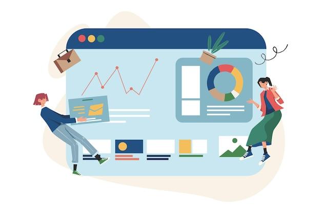 Formazione del personale d'ufficio, aumento delle vendite e delle competenze, pensiero di squadra e brainstorming