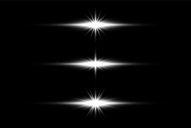 Disegno di sfondo trasparente effetto bagliore di luce eps