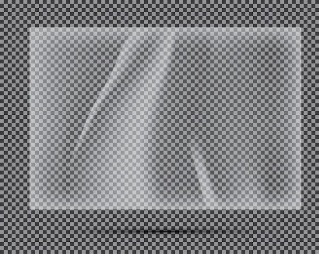 Polietilene chiaro trasparente.