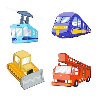 Illustrazione stabilita di trasporto