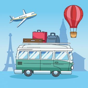 Viaggia in tutto il mondo con van