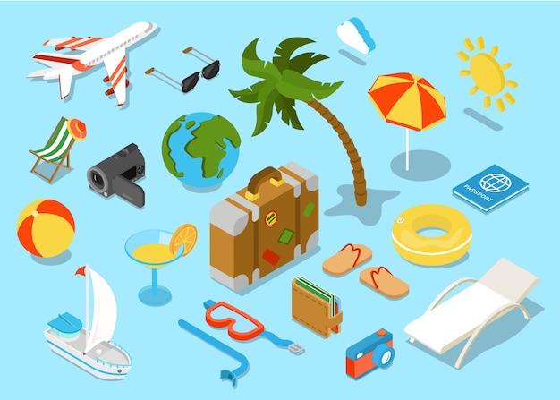 Proposta di compagnia di viaggio promo tour vacanza d'affari
