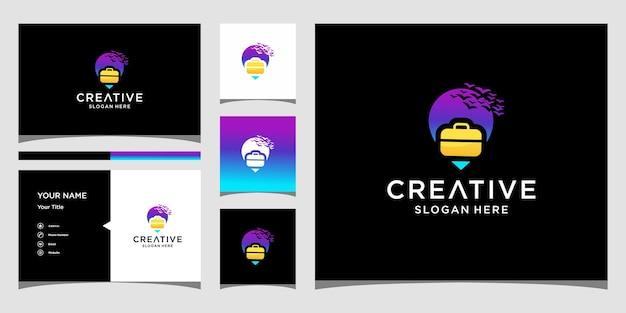 Design del logo di viaggio