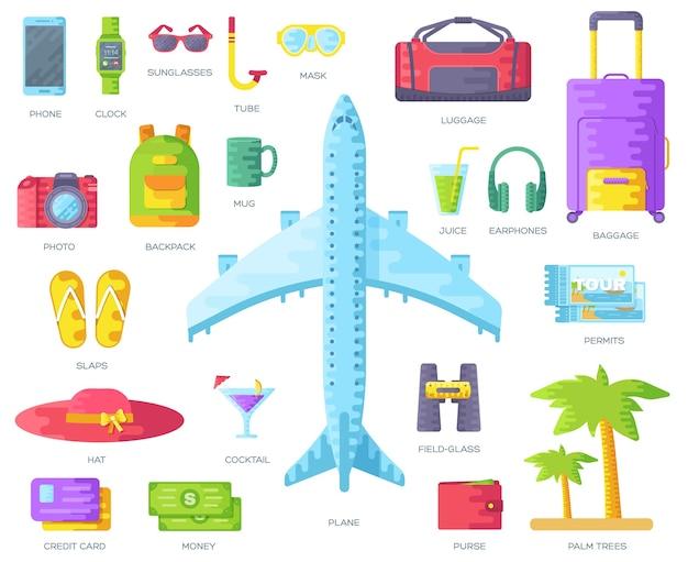 Modello di viaggio di flyear, riviste, poster, copertine di libri, banner.