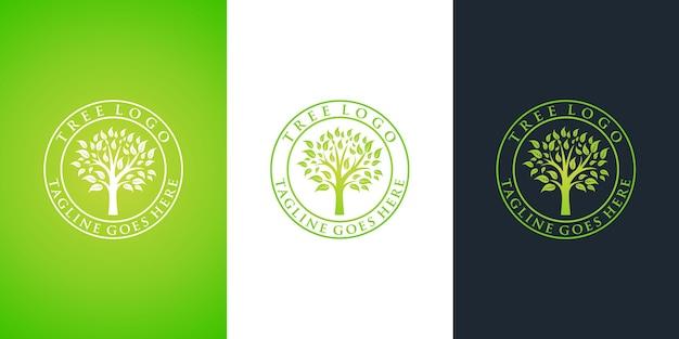 Disegno di marchio dell'albero