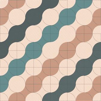 Motivo geometrico di tendenza. poster di opere d'arte geometriche minimaliste con forme semplici