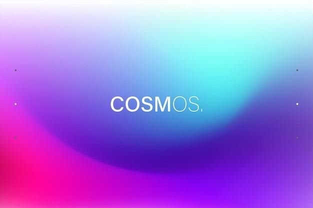 Design di sfondo sfumato fluido colorato alla moda per web e stampa