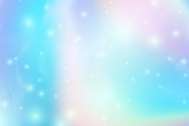 Trendy sfondo olografico astratto con gradiente maglie. trama iridescente.